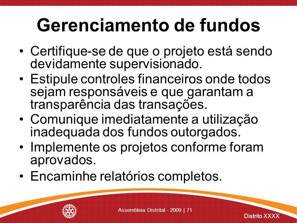 Gerenciamento de fundos