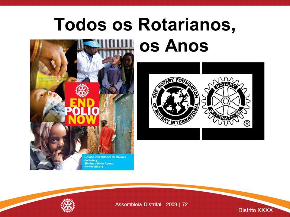 Todos os Rotarianos, Todos os Anos