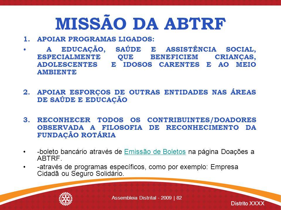 Assembleia Distrital - 2009 | 82