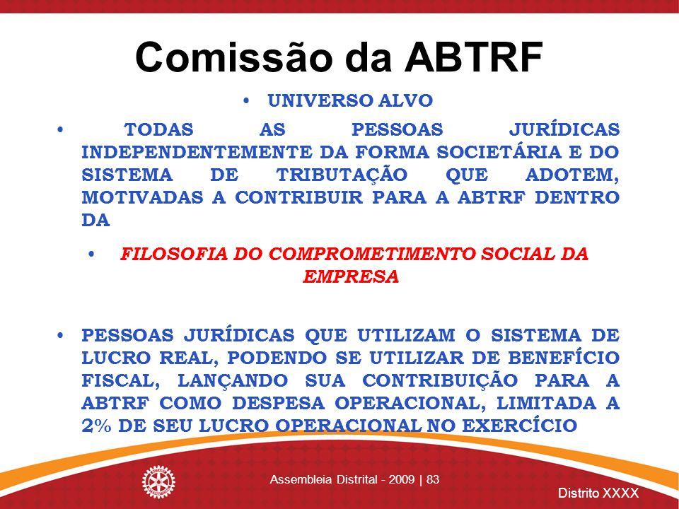 FILOSOFIA DO COMPROMETIMENTO SOCIAL DA EMPRESA