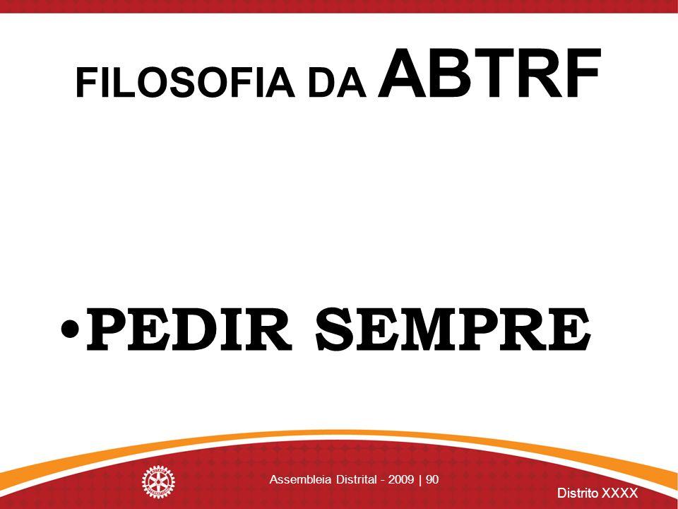 Assembleia Distrital - 2009 | 90