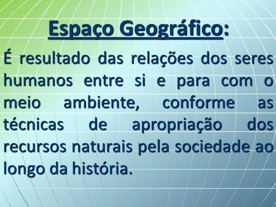Espaço Geográfico: