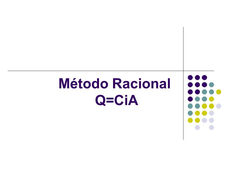 Método Racional Q=CiA