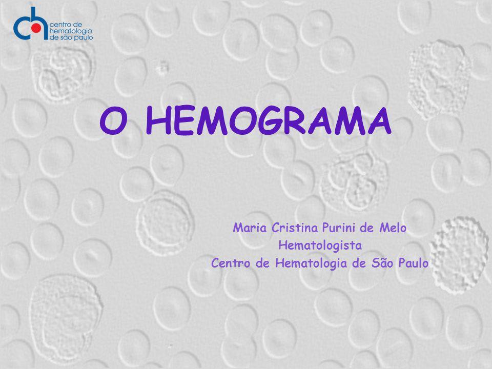 Maria Cristina Purini de Melo Centro de Hematologia de São Paulo