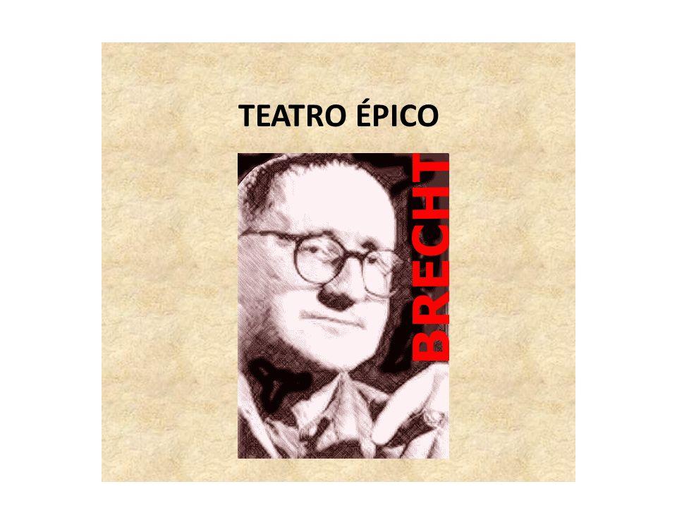 TEATRO ÉPICO TEATRO ÉPICO