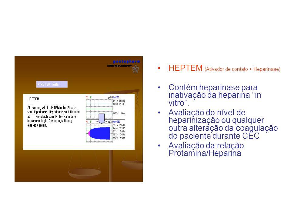 HEPTEM (Ativador de contato + Heparinase)