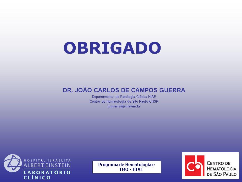 OBRIGADO DR. JOÃO CARLOS DE CAMPOS GUERRA 56