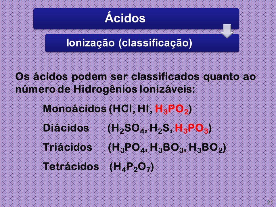 Ionização (classificação)