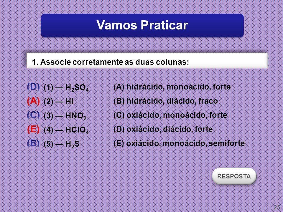 Vamos Praticar (D) (A) (C) (E) (B)