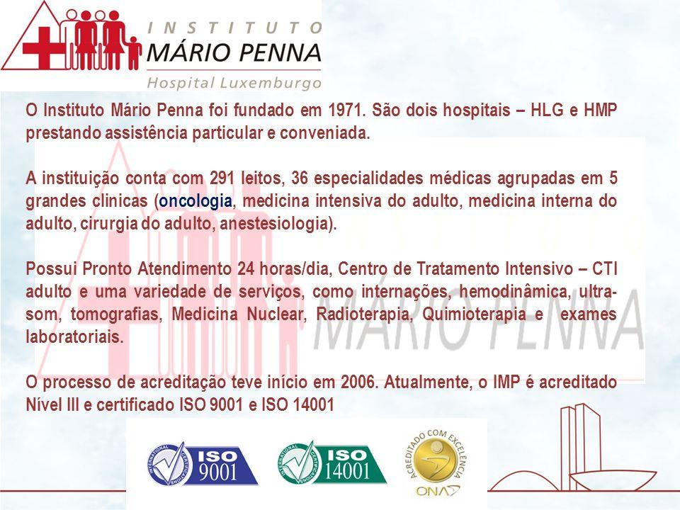 O Instituto Mário Penna foi fundado em 1971