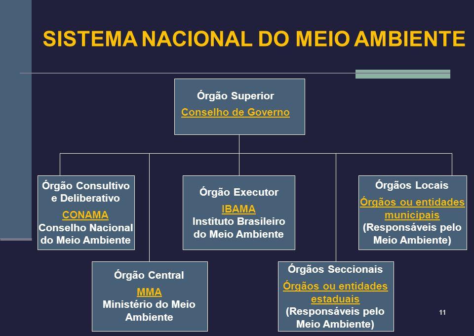 SISTEMA NACIONAL DO MEIO AMBIENTE