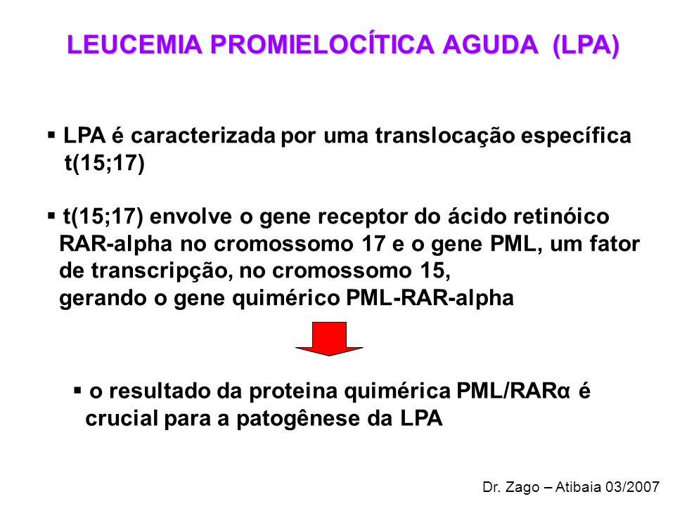 LEUCEMIA PROMIELOCÍTICA AGUDA (LPA)