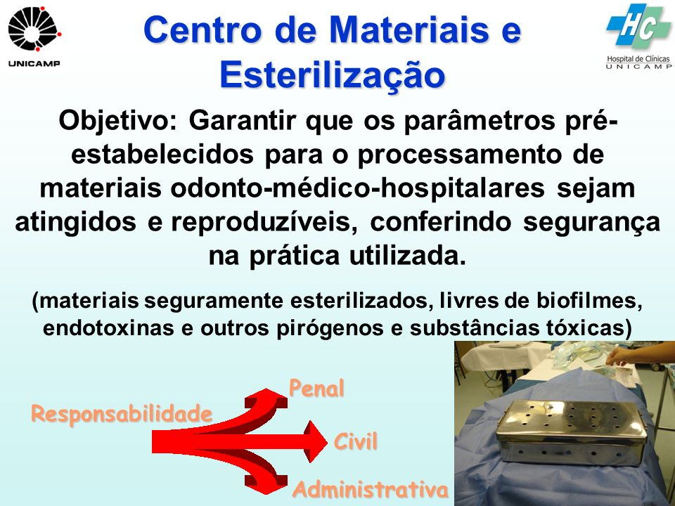 Centro de Materiais e Esterilização