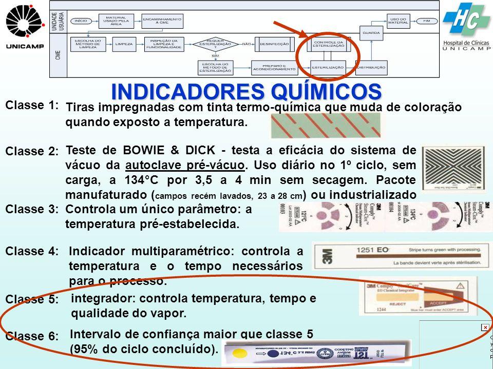 INDICADORES QUÍMICOS Classe 1: