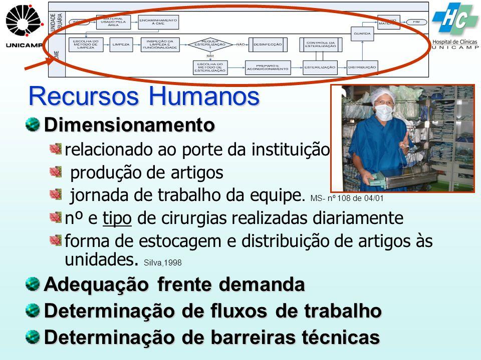 Recursos Humanos Dimensionamento Adequação frente demanda