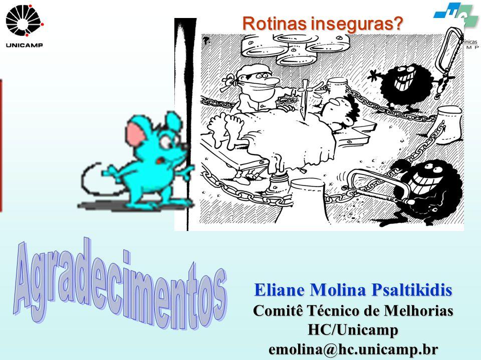 Eliane Molina Psaltikidis Comitê Técnico de Melhorias