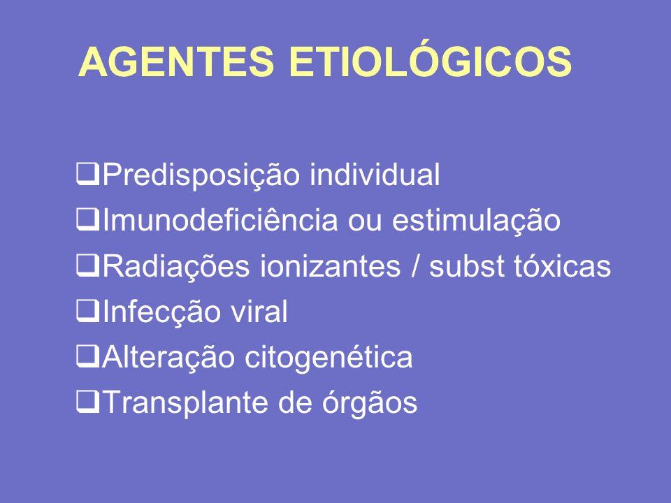 AGENTES ETIOLÓGICOS Predisposição individual