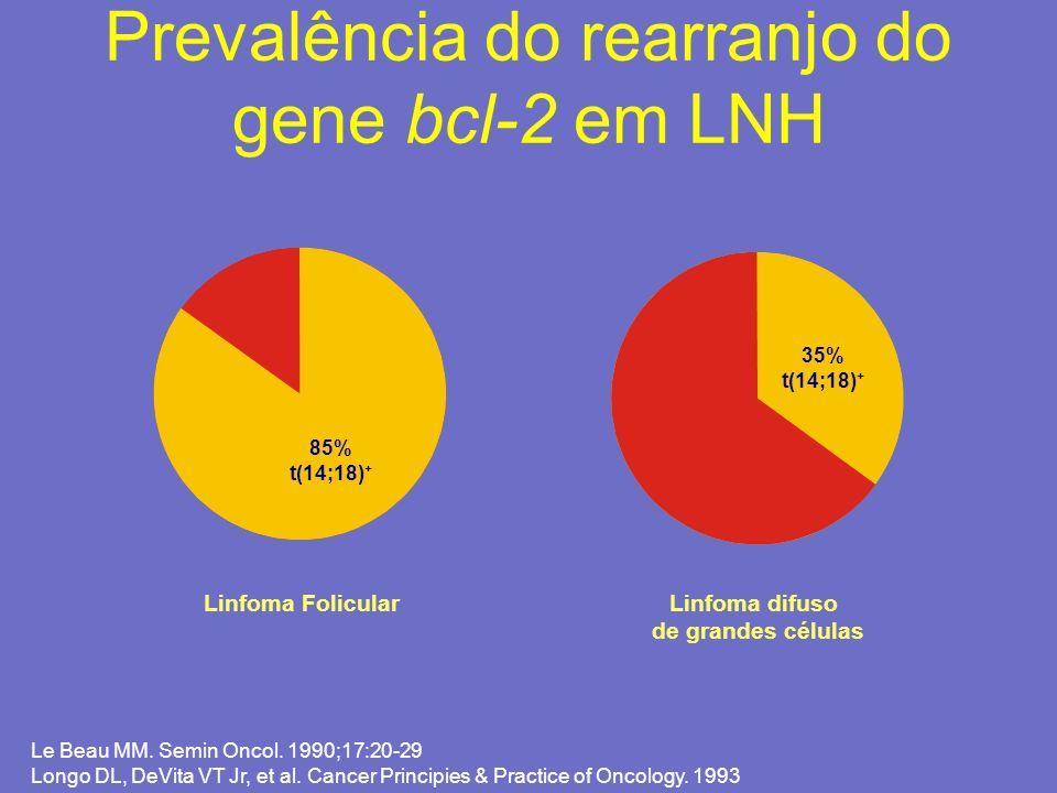 Prevalência do rearranjo do gene bcl-2 em LNH
