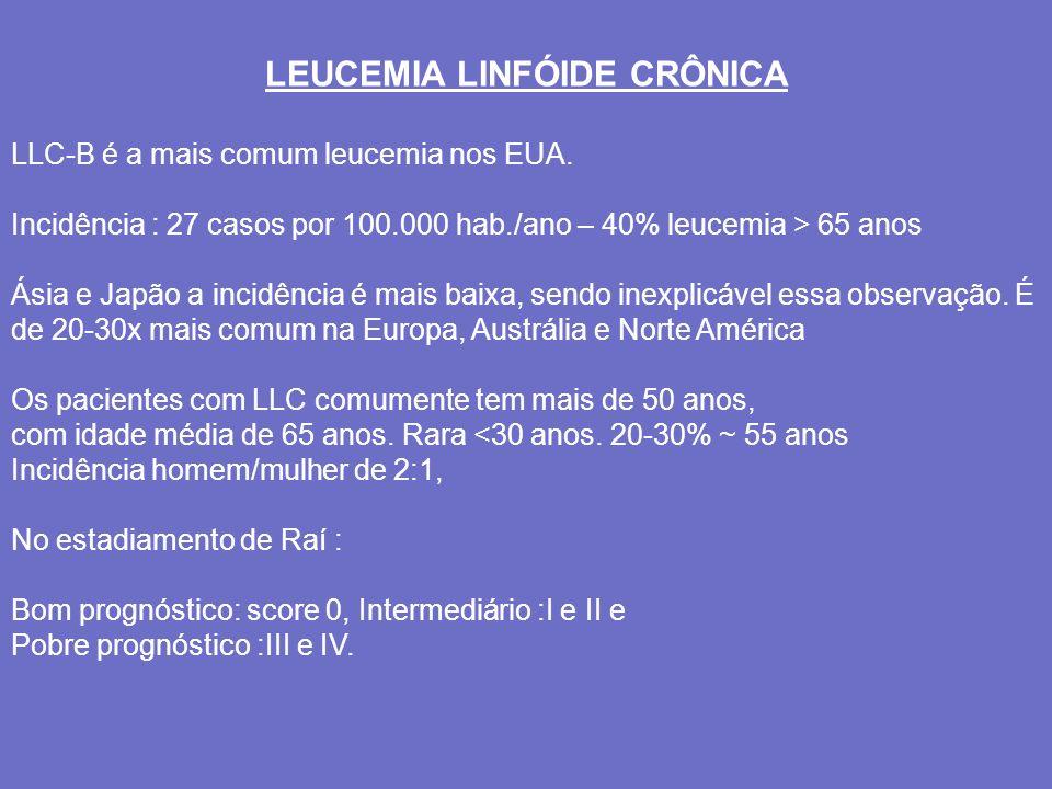 LEUCEMIA LINFÓIDE CRÔNICA
