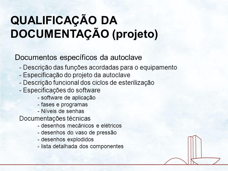 QUALIFICAÇÃO DA DOCUMENTAÇÃO (projeto)