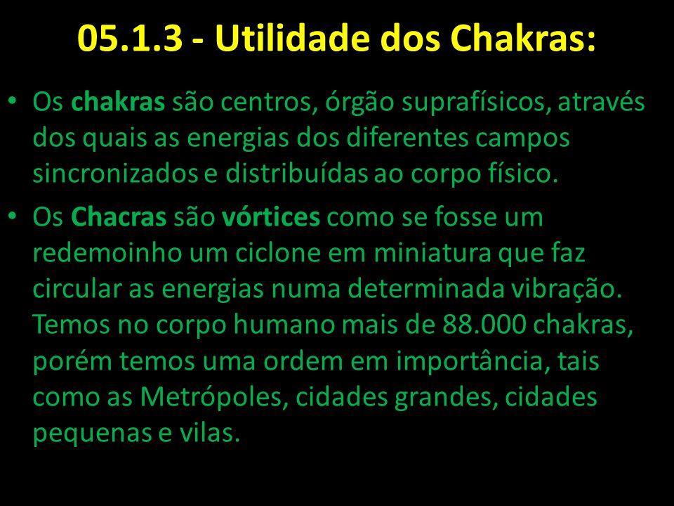 05.1.3 - Utilidade dos Chakras: