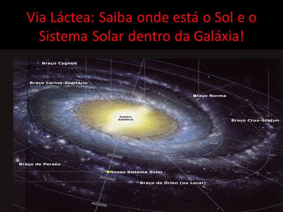 Via Láctea: Saiba onde está o Sol e o Sistema Solar dentro da Galáxia!