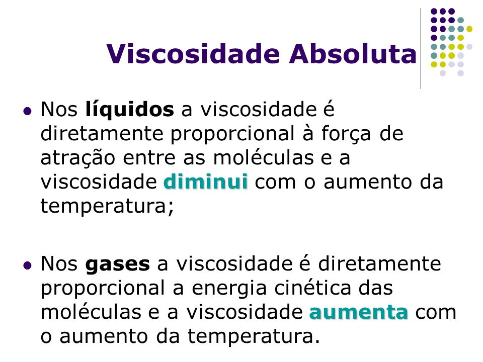 Viscosidade Absoluta