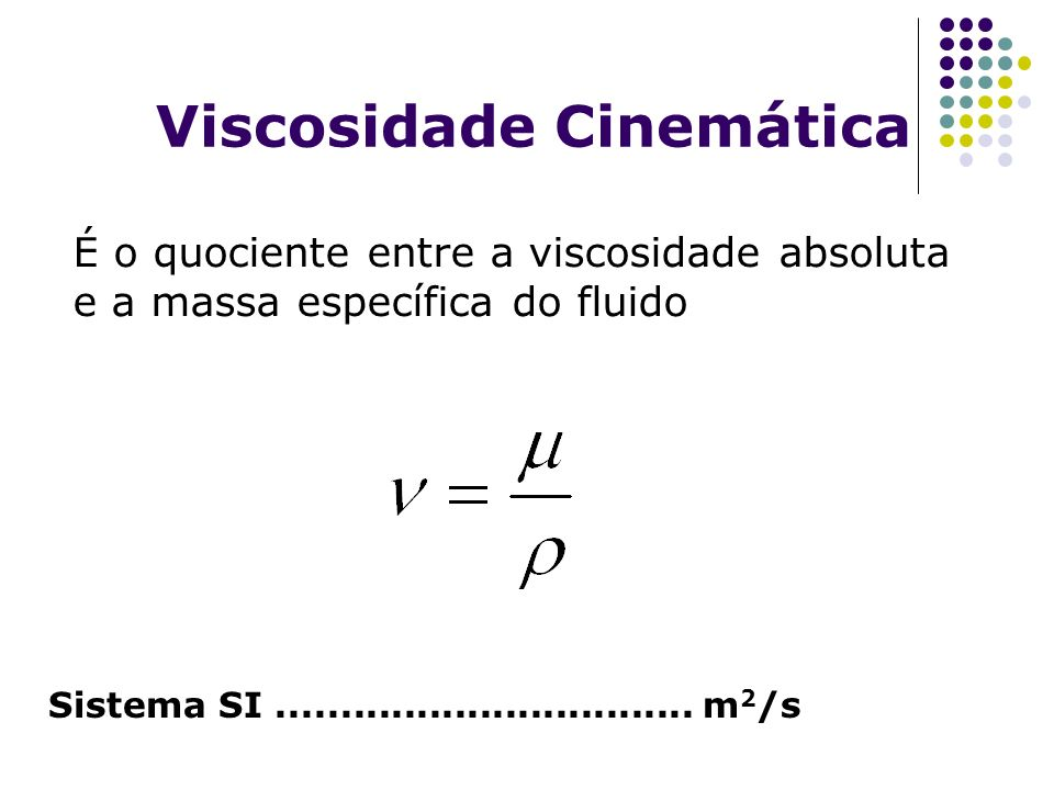 Viscosidade Cinemática