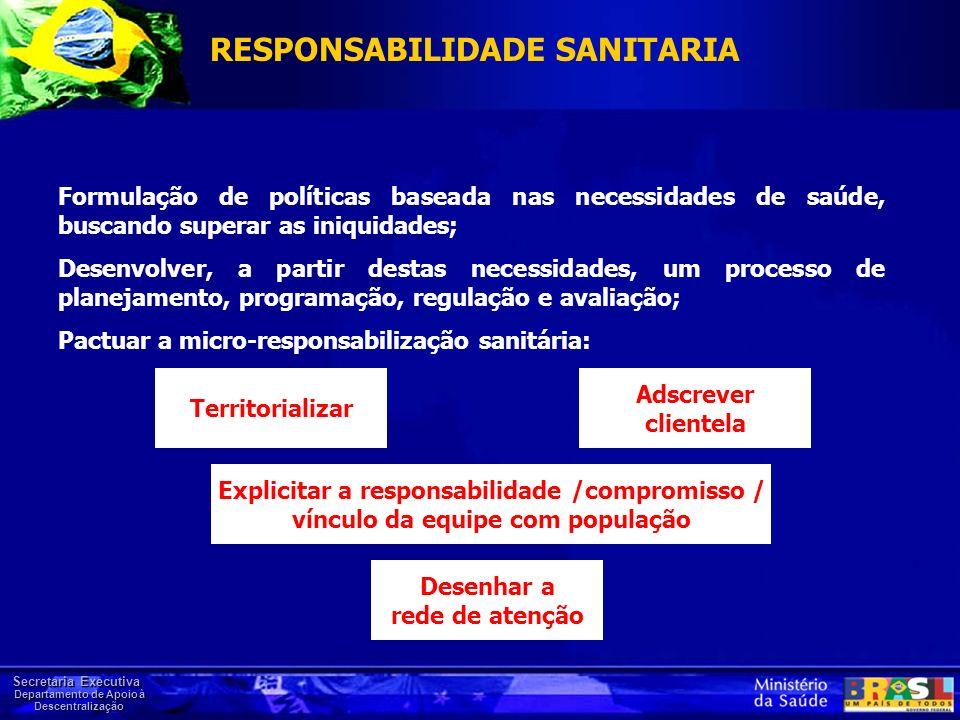 RESPONSABILIDADE SANITARIA