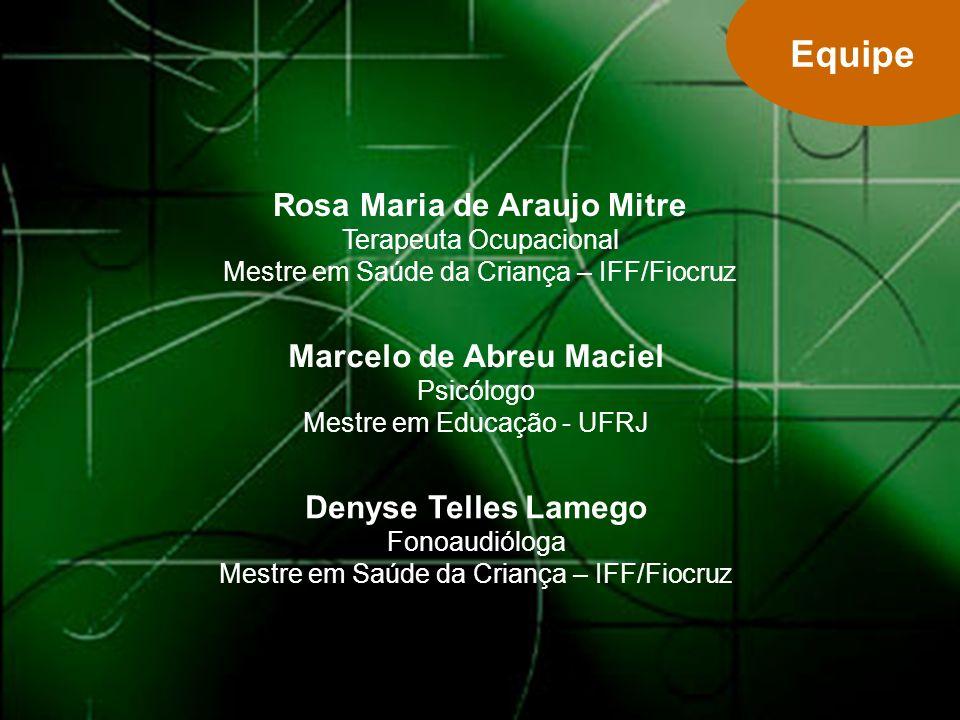 Marcelo de Abreu Maciel Psicólogo Mestre em Educação - UFRJ