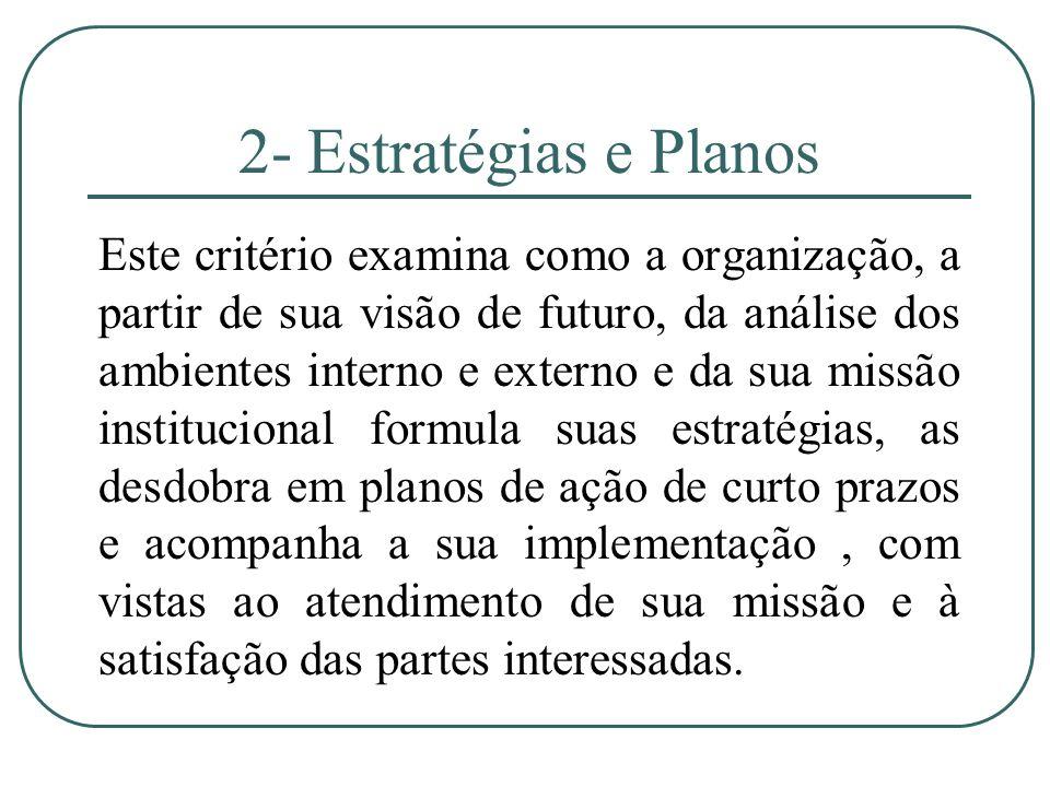 2- Estratégias e Planos