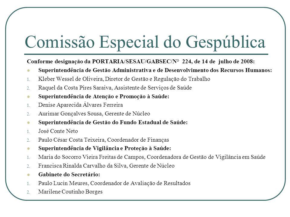 Comissão Especial do Gespública