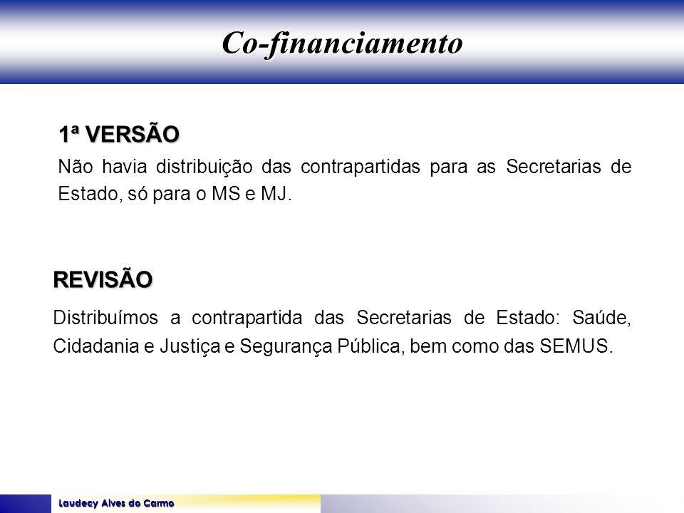 Co-financiamento 1ª VERSÃO REVISÃO