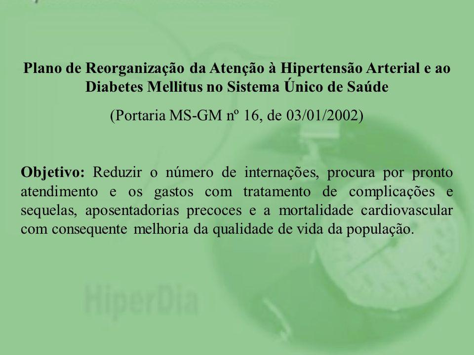 (Portaria MS-GM nº 16, de 03/01/2002)