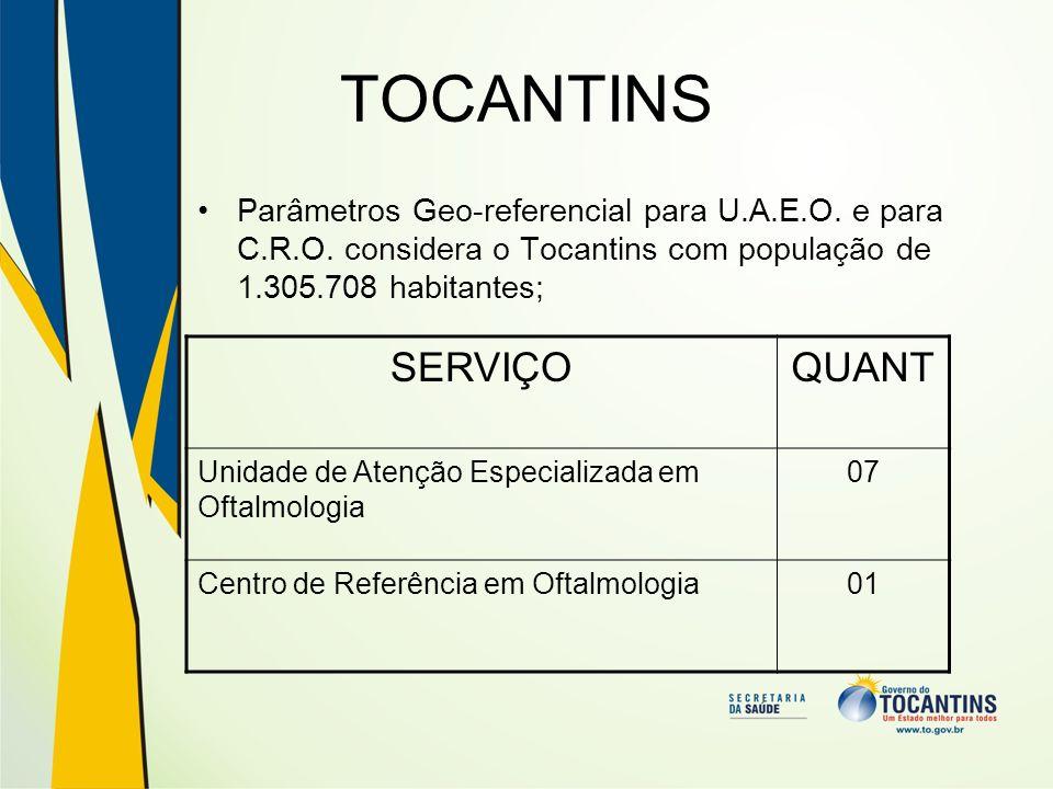 TOCANTINS SERVIÇO QUANT
