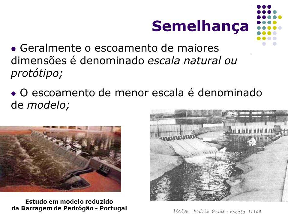 Estudo em modelo reduzido da Barragem de Pedrógão - Portugal