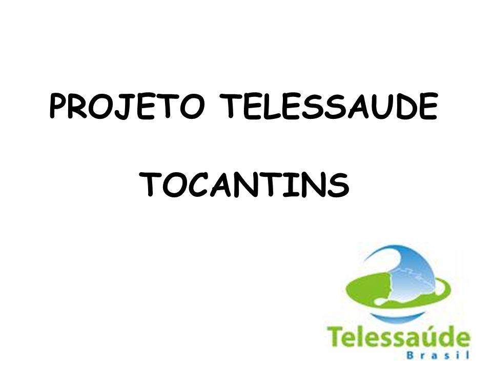 PROJETO TELESSAUDE TOCANTINS