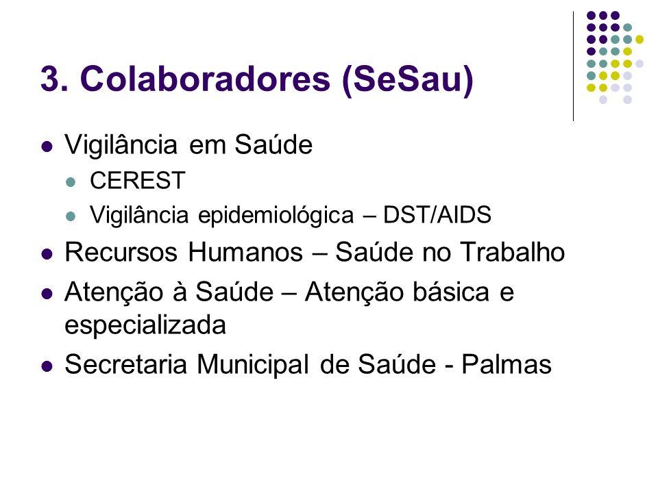 3. Colaboradores (SeSau)