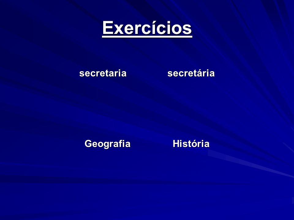 secretaria secretária