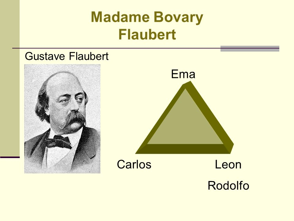 Madame Bovary Flaubert