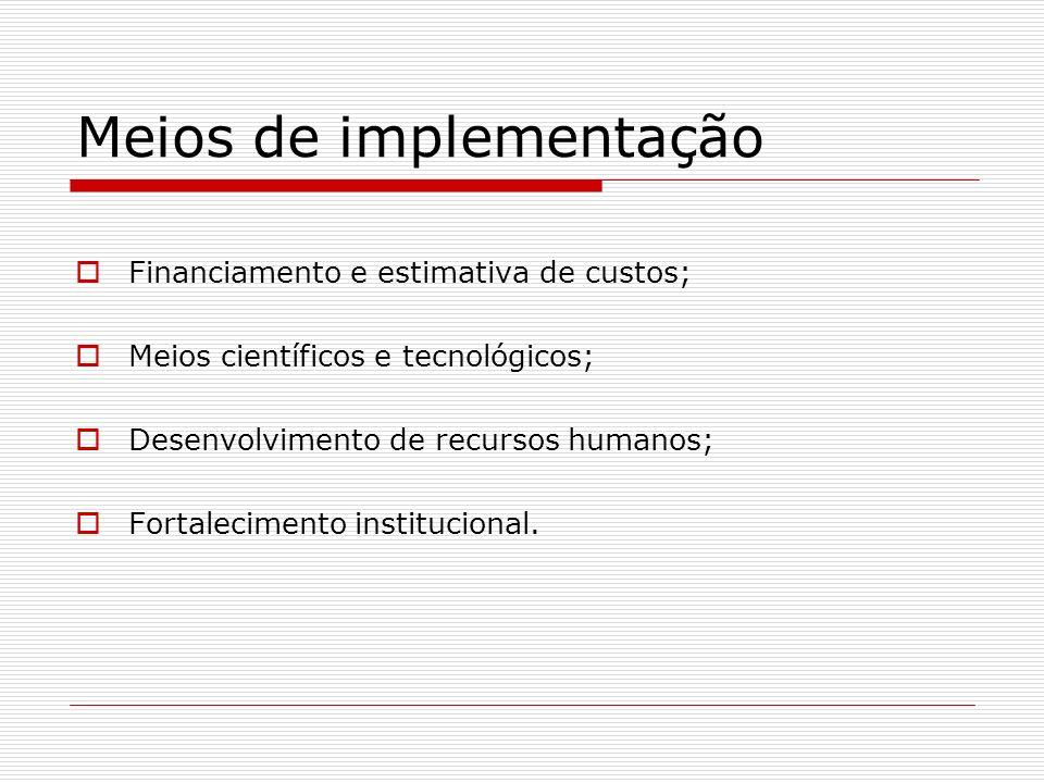 Meios de implementação
