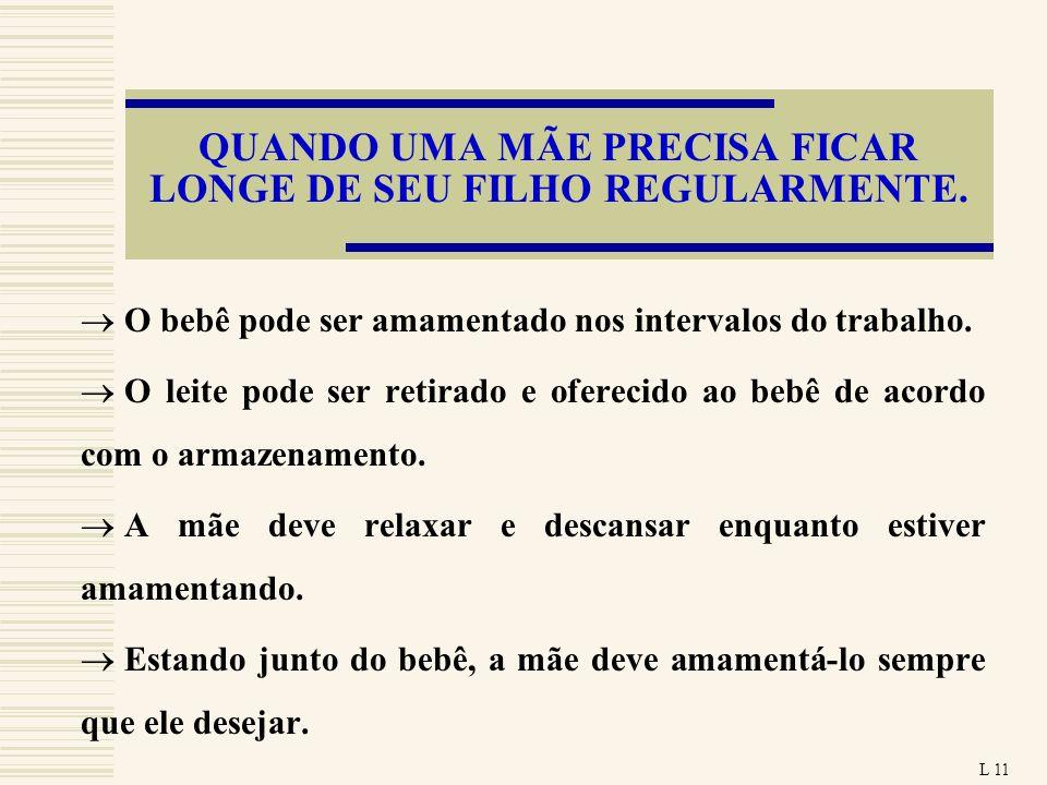 QUANDO UMA MÃE PRECISA FICAR LONGE DE SEU FILHO REGULARMENTE.