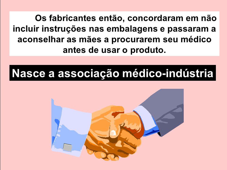 Nasce a associação médico-indústria