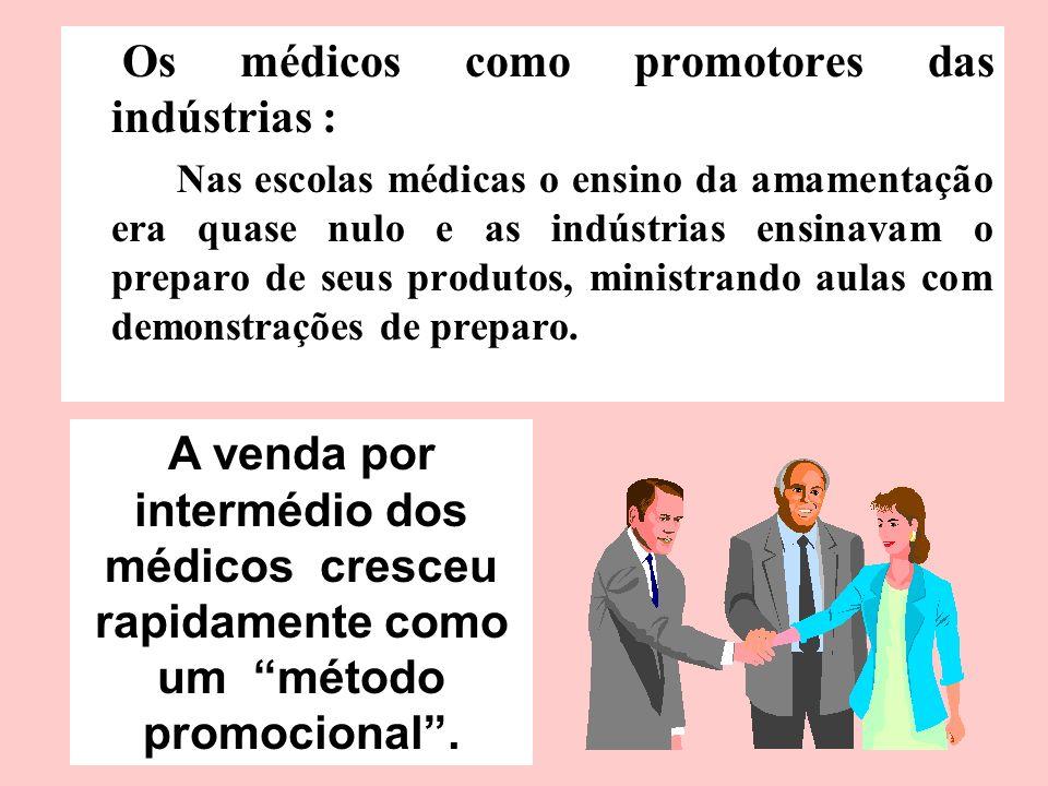 Os médicos como promotores das indústrias :