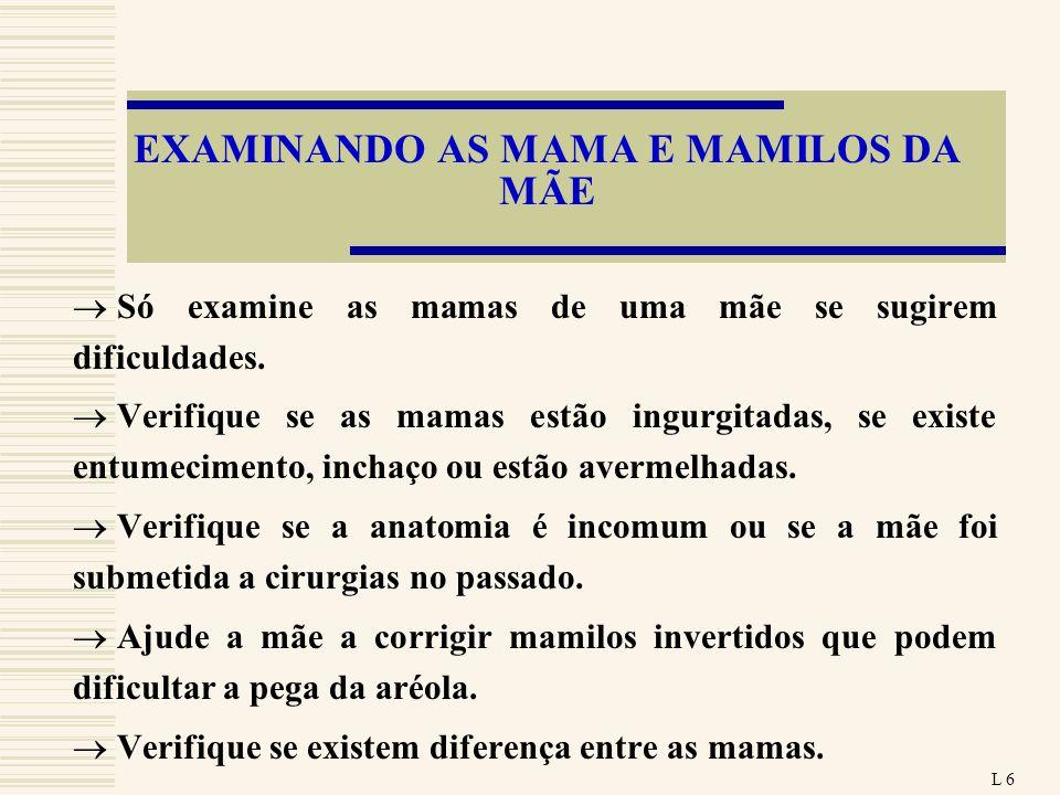 EXAMINANDO AS MAMA E MAMILOS DA MÃE