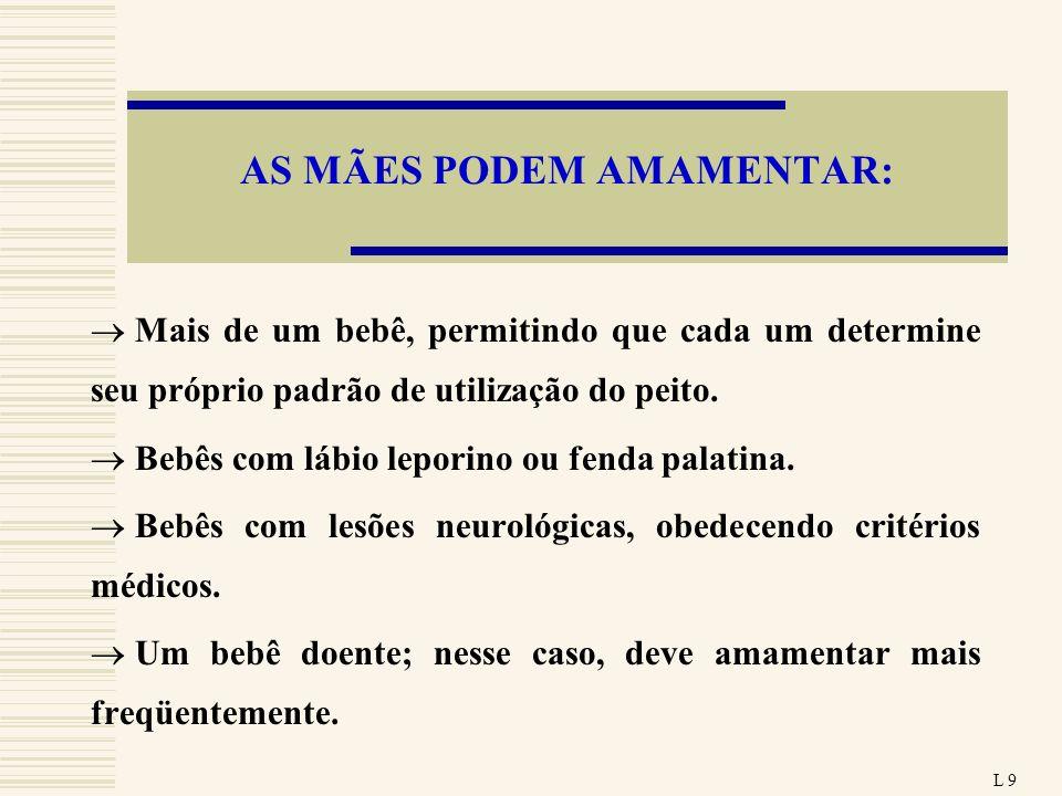 AS MÃES PODEM AMAMENTAR: