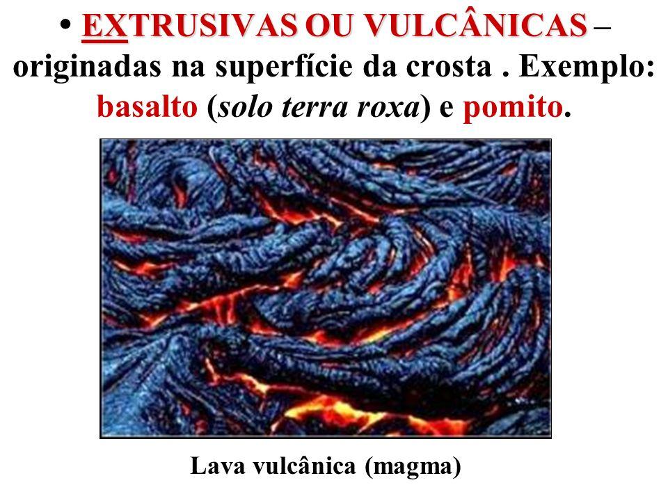 Lava vulcânica (magma)