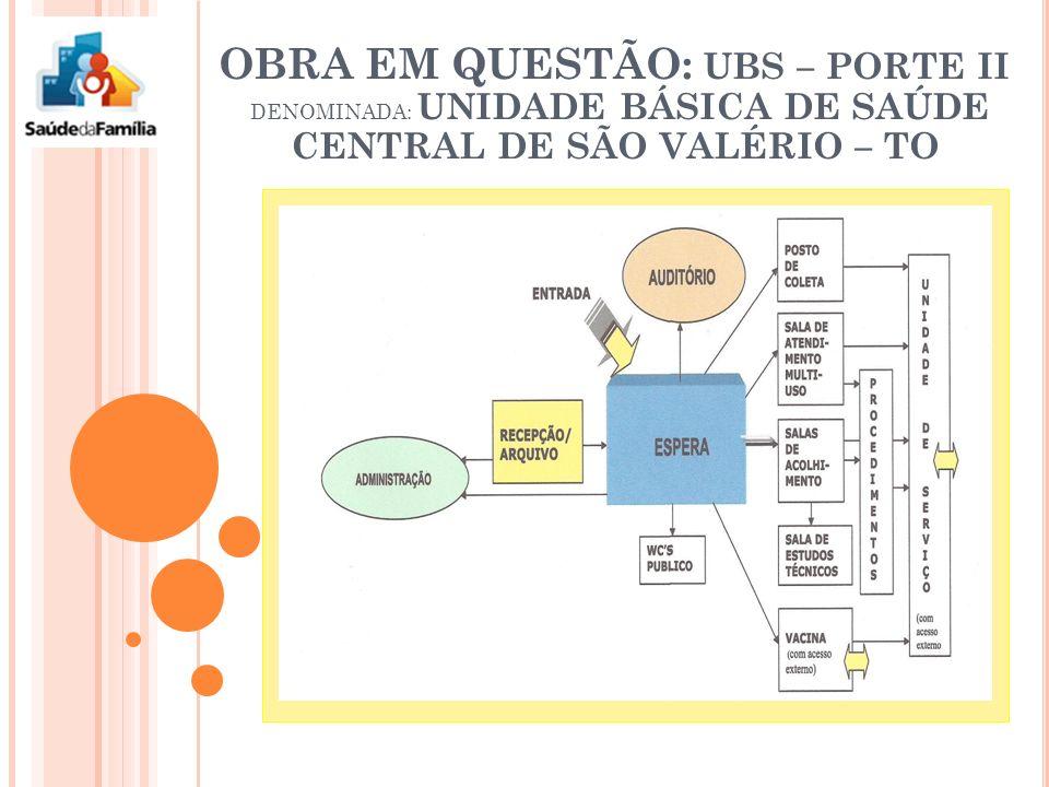 Unidade básica de saúde central de são valério - to