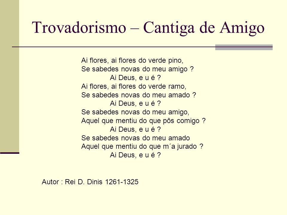 Trovadorismo – Cantiga de Amigo