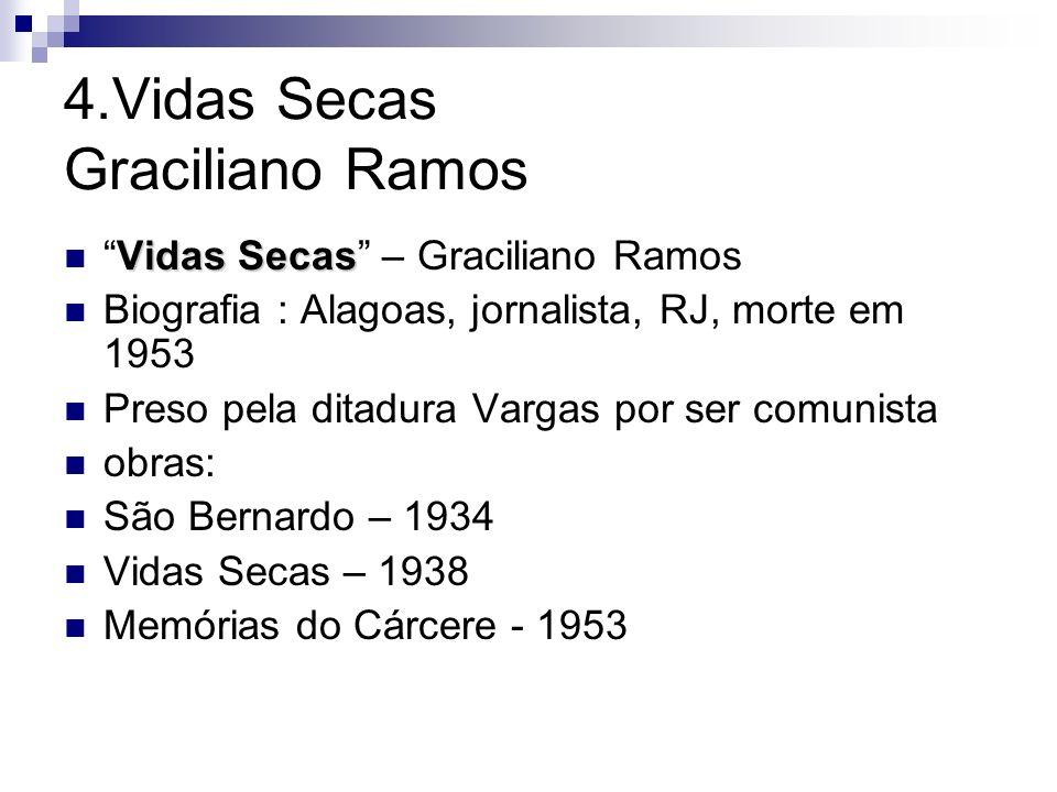 4.Vidas Secas Graciliano Ramos